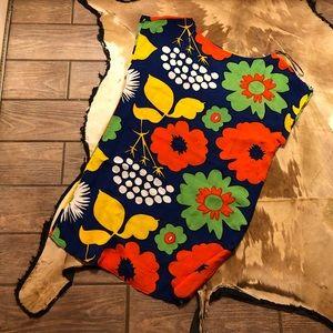 Marimekko med dress